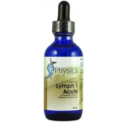 Lymph 1 Acute, supplement, homeopathic remedy, drainage, lymphatic drainage, anti-inflammatory, inflammation