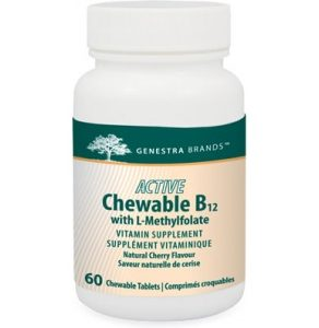 Vitamin B12, B12, Active B12, Chewable B12