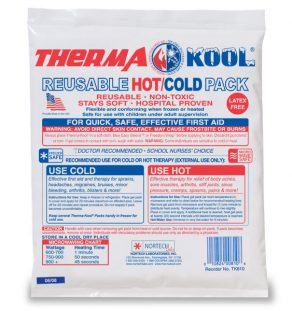 Therma-Kool Hot Cold Pack, injury rehabilitation, aches, strains, pains, Ice Pack, Hot Pack, Injury relief, self care, anti-inflammatory