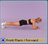 Front plank forward